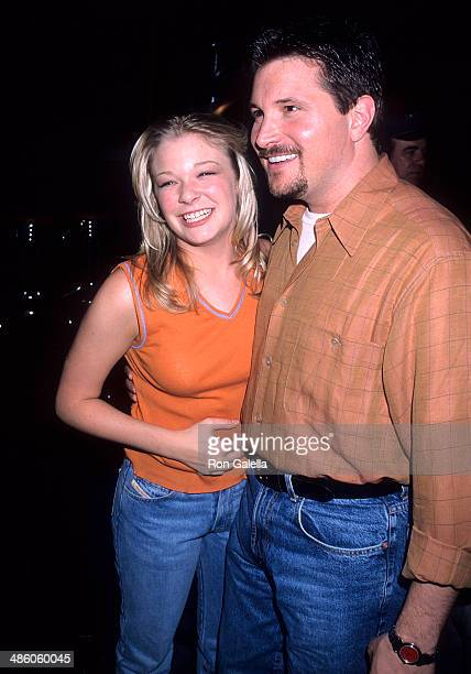 Singer LeAnn Rimes and singer Ty Herndon attend the 33rd Annual Academy of Country Music Awards Artists Reception on April 21 1998 at the Country...