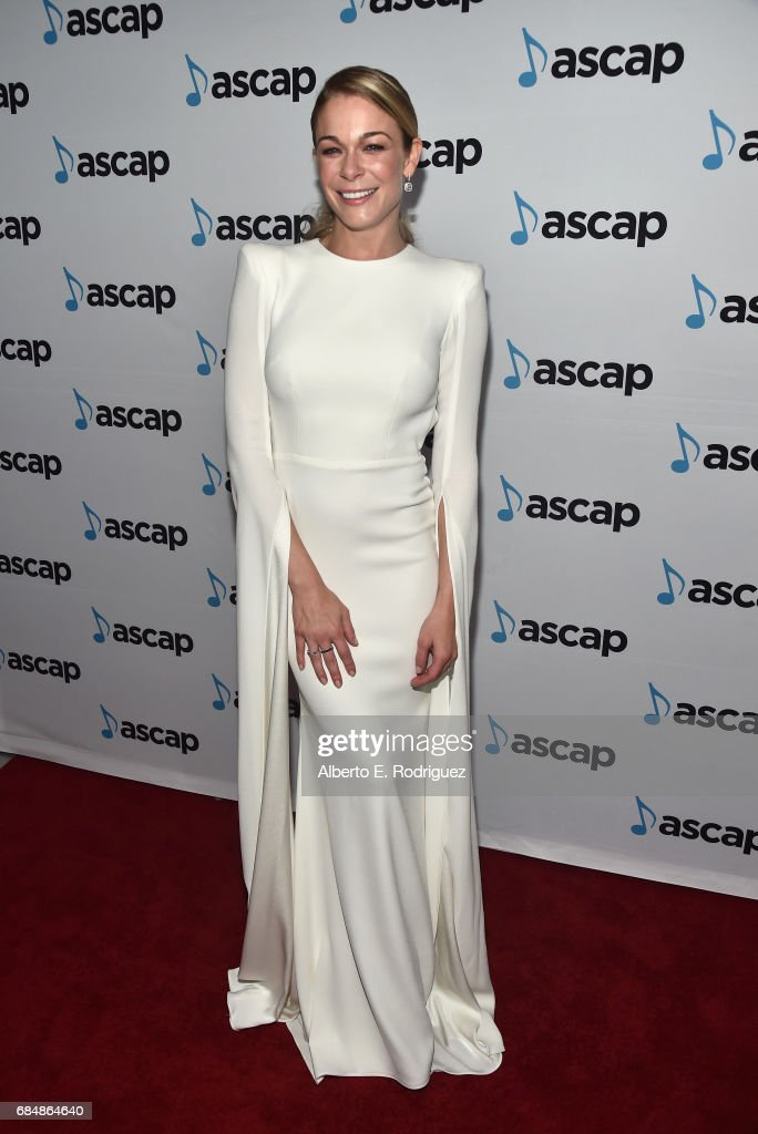 Singer LeAnn Rimes at the 2017 ASCAP Pop Awards at The Wiltern on May 18, 2017 in Los Angeles, California.
