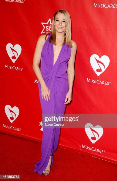 Singer LeAnn Rimes attends 2014 MusiCares Person Of The Year Honoring Carole King at Los Angeles Convention Center on January 24 2014 in Los Angeles...