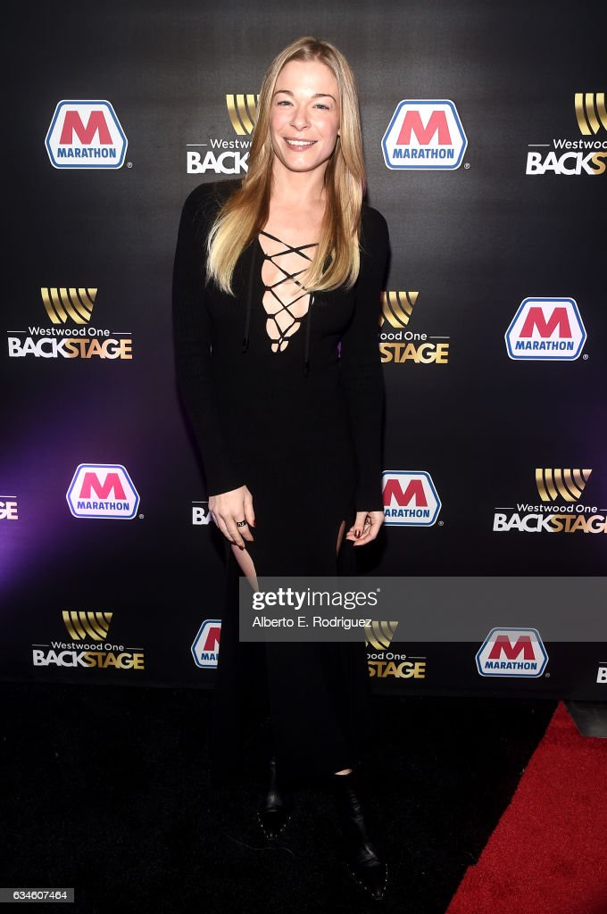 Singer LeAnn Rimes attends Backstage at The GRAMMYs Westwood One Radio Remotes during the 59th GRAMMY Awards at STAPLES Center on February 10, 2017 in Los Angeles, California.