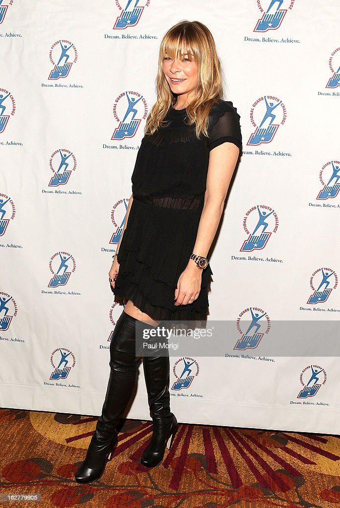 Singer LeAnn Rimes attends the 2013 ChalleNGe Champions Gala at JW Marriott Hotel on February 26, 2013 in Washington, DC.