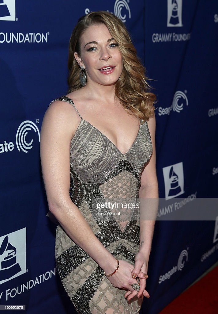 Singer LeAnn Rimes attends The 55th Annual GRAMMY Awards - Music Preservation Project 'Play It Forward' Celebration highlighting The GRAMMY Foundations ongoing work to safegaurd music's history at the Saban Theatre on February 7, 2013 in Los Angeles, California.
