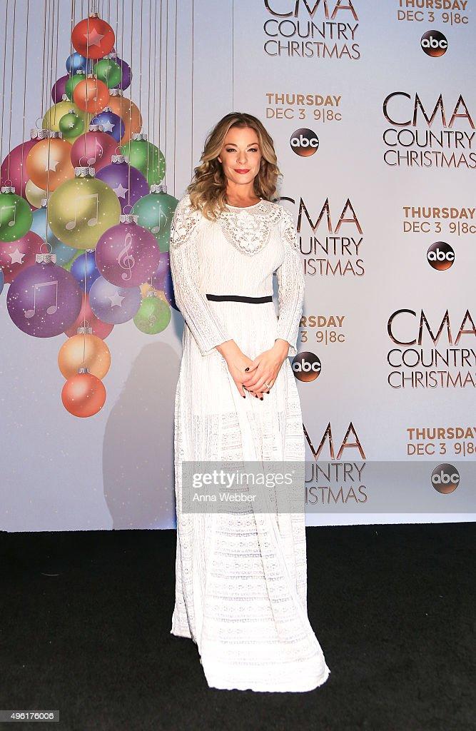 CMA 2015 Country Christmas - Press room