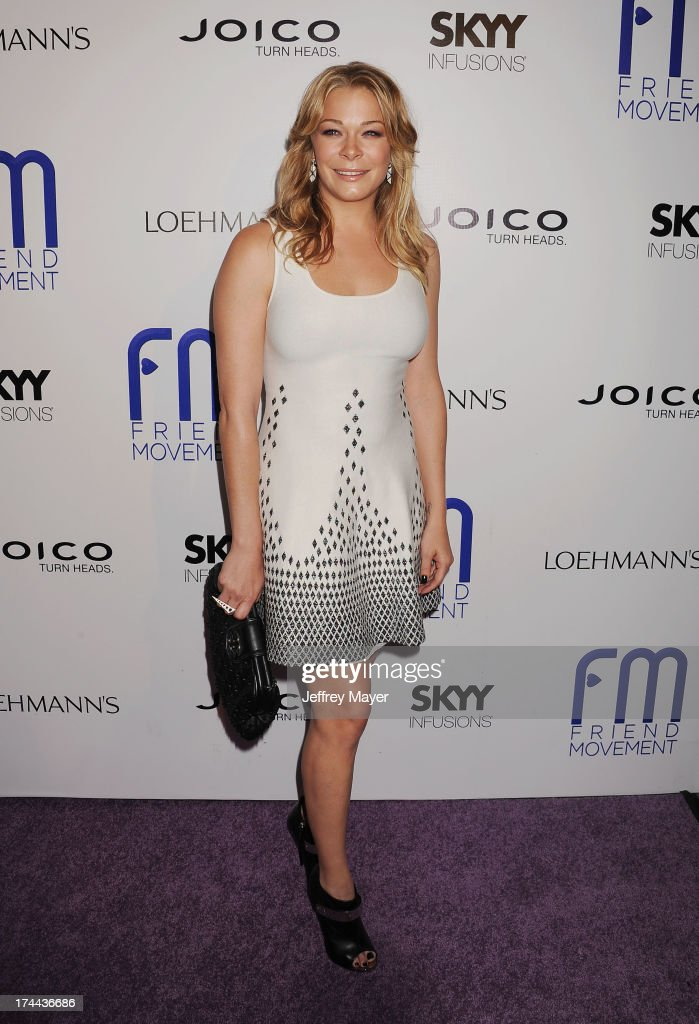 Singer LeAnn Rimes attends the Friend Movement Anti-Bullying Benefit Concert at the El Rey Theatre on July 1, 2013 in Los Angeles, California.