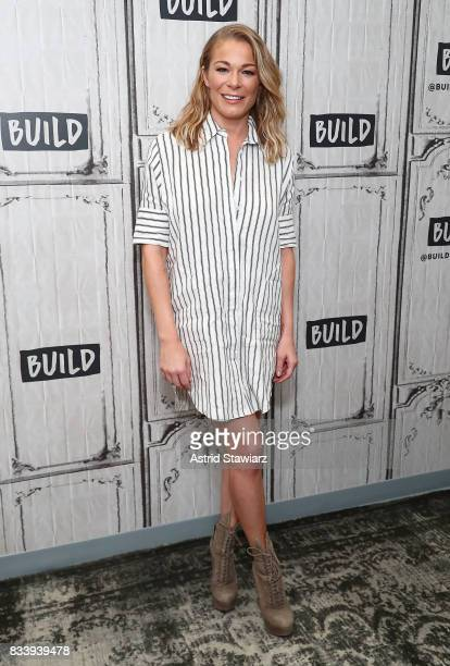 Singer LeAnn Rimes discusses her film 'Logan Lucky' at Build Studio on August 17 2017 in New York City