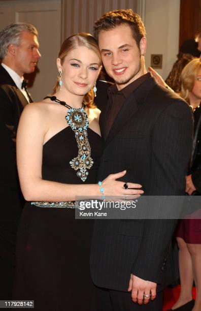 Singer LeAnn Rimes with her husband Dean Sheremet