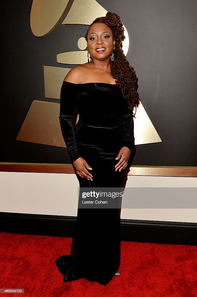Singer Ledisi attends The 57th Annual GRAMMY Awards at the STAPLES Center on February 8 2015 in Los Angeles California