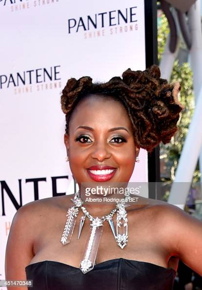 Singer Ledisi attends the Pantene Style Stage during BET AWARDS '14 at Nokia Theatre LA LIVE on June 29 2014 in Los Angeles California