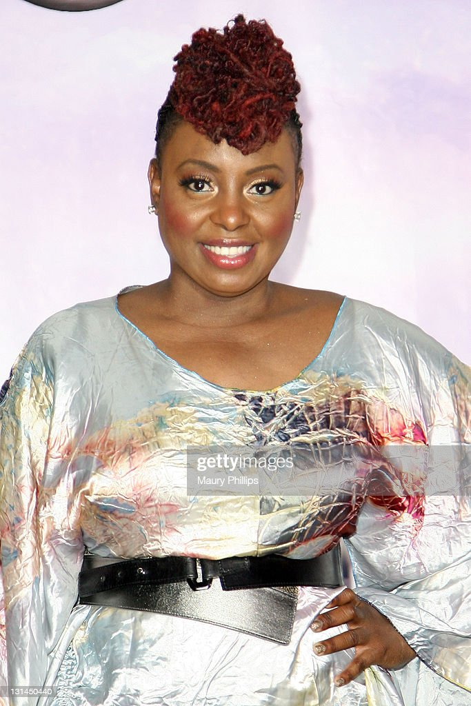 Singer Ledisi poses in the press room at the BET Awards '11 held at The Shrine Auditorium on June 26 2011 in Los Angeles California