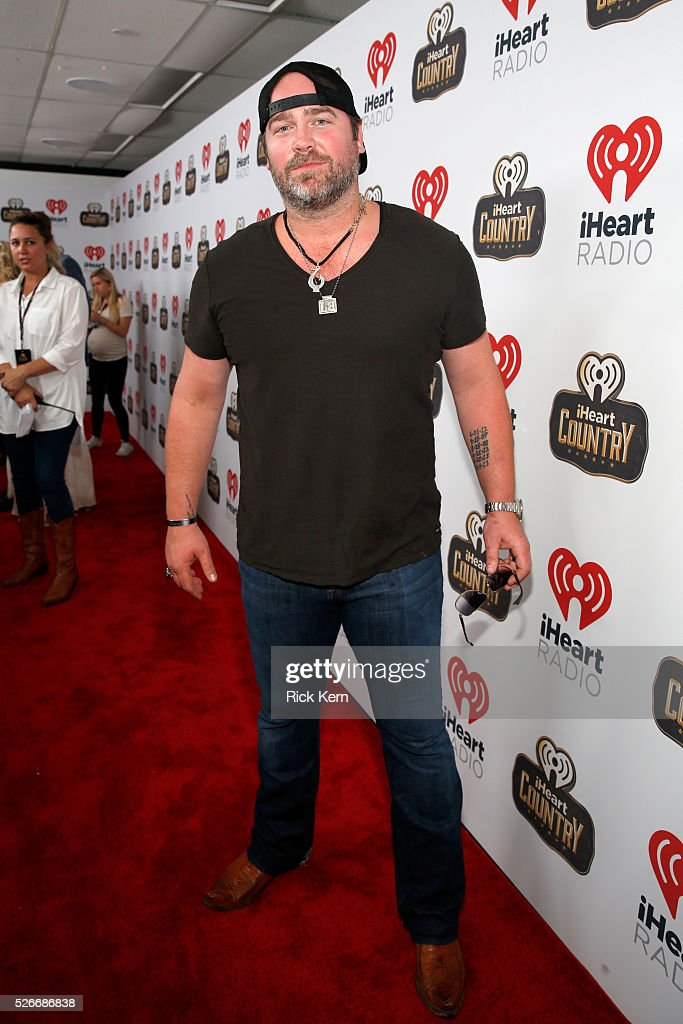 Singer <a gi-track='captionPersonalityLinkClicked' href=/galleries/search?phrase=Lee+Brice&family=editorial&specificpeople=4290648 ng-click='$event.stopPropagation()'>Lee Brice</a> attends the 2016 iHeartCountry Festival at The Frank Erwin Center on April 30, 2016 in Austin, Texas.