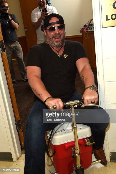 Singer Lee Brice attends the 2016 iHeartCountry Festival at The Frank Erwin Center on April 30 2016 in Austin Texas