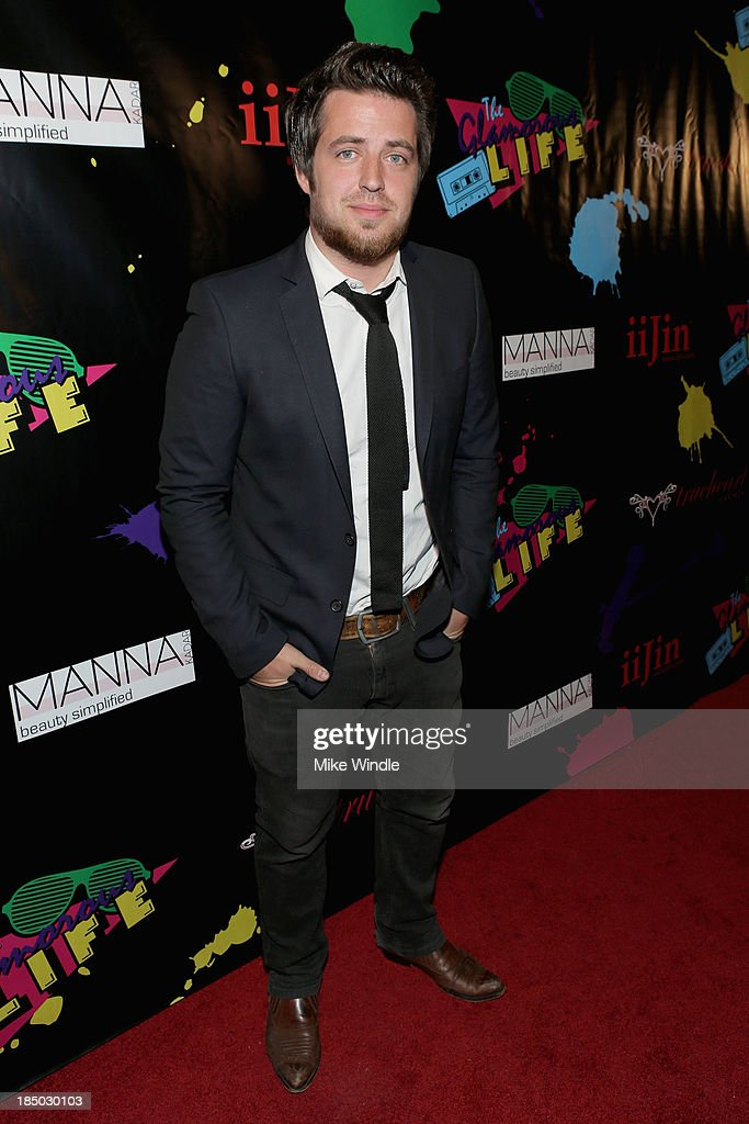 Singer Lee DeWyze arrives at iiJin's Spring/Summer 2014 'The Glamorous Life' clothing and footwear collection fashion show at Avalon on October 16, 2013 in Hollywood, California.