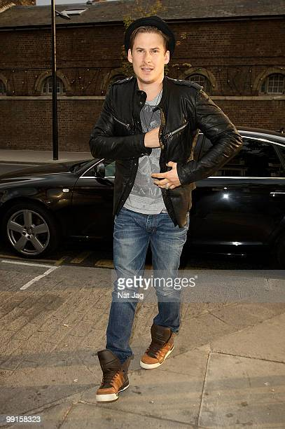 Singer Lee Ryan attends the brand and flagship store launch party of Louie Louie on May 12 2010 in London England
