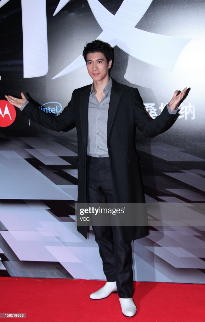 Singer Leehom Wang attends the 2012 Sina Weibo Awards Ceremony at China World Trade Center Tower 3 on January 14, 2013 in Beijing, China.
