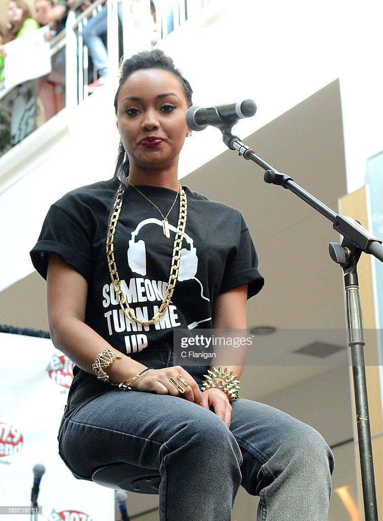 Singer Leigh-Anne Pinnock of Little Mix performs at the Arden Center on April 1, 2013 in Sacramento, California.