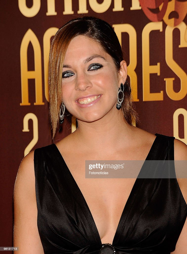 Singer Leire Martinez attends 'Union de Actores' awards, at the Price Circus on March 29, 2010 in Madrid, Spain.