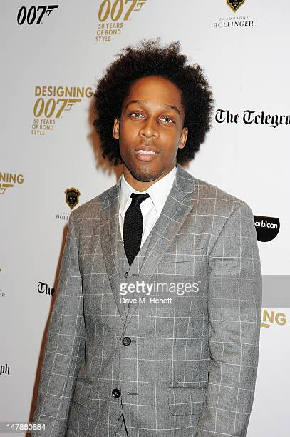 Singer Lemar attends the launch of 'Designing 007 Fifty Years of Bond Style' a new exhibition marking the 50th anniversary of the James Bond film...