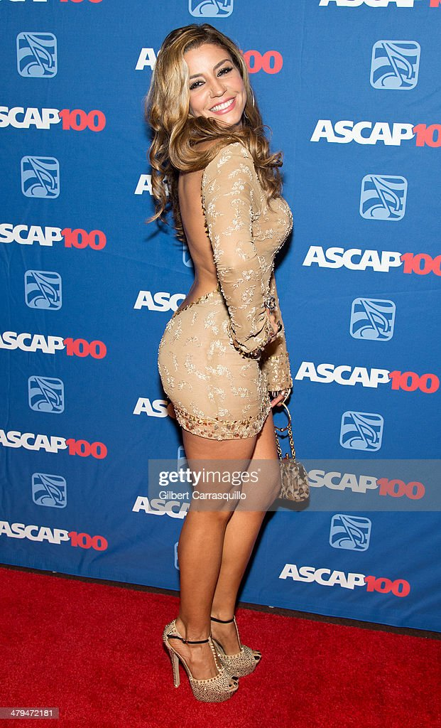 Singer Lena attends the 22nd annual ASCAP Latin Music Awards at Hammerstein Ballroom on March 18, 2014 in New York City.