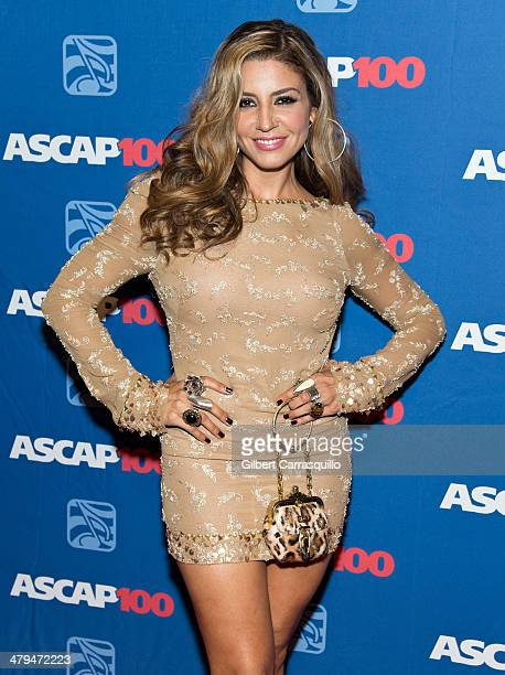 Singer Lena attends the 22nd annual ASCAP Latin Music Awards at Hammerstein Ballroom on March 18 2014 in New York City