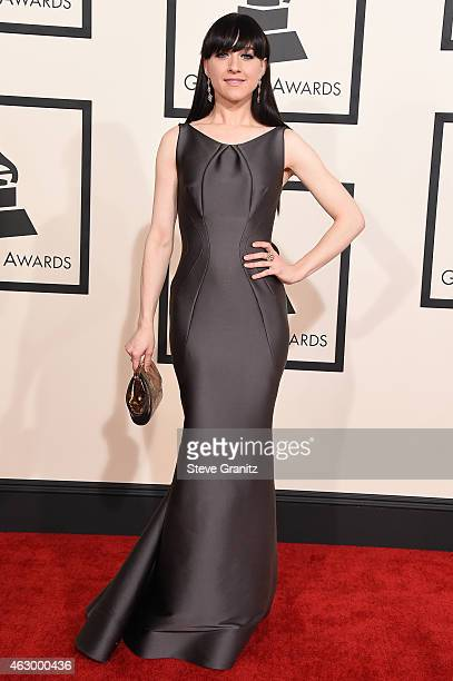 Singer Lena Hall attends The 57th Annual GRAMMY Awards at the STAPLES Center on February 8 2015 in Los Angeles California