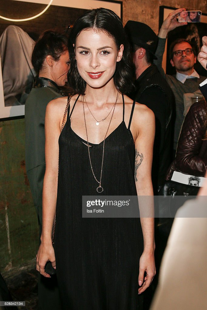 Singer Lena Meyer-Landrut attends the photo art exhibition and book launch of BILLY at Seven Star Gallery on May 4, 2016 in Berlin, Germany.