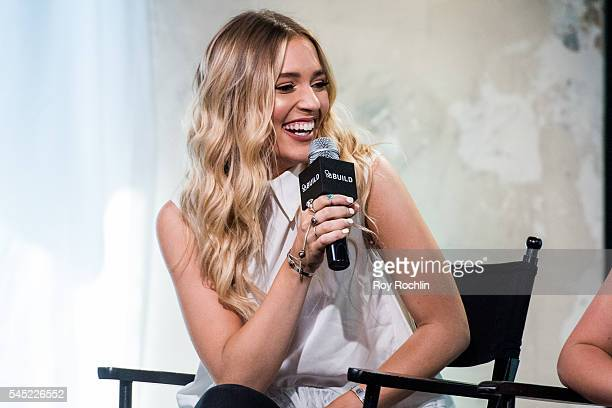 Singer Lennon Stella of Lennon Maisy discuss 'Nashville' with AOL Build at AOL Studios In New York on July 6 2016 in New York CityÊ