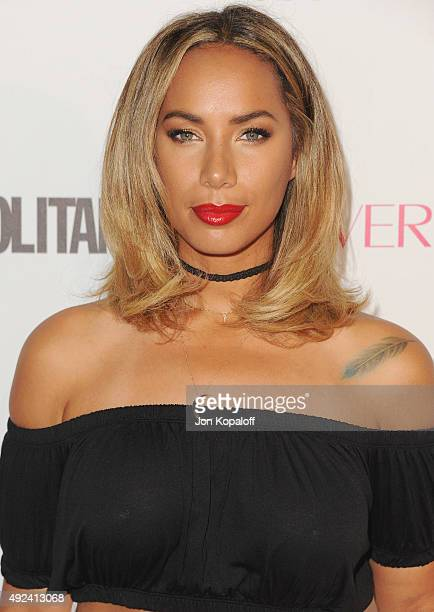 Singer Leona Lewis arrives at Cosmopolitan Magazine's 50th Birthday Celebration at Ysabel on October 12 2015 in West Hollywood California