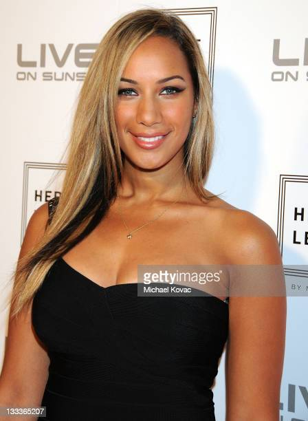 Singer Leona Lewis arrives at Live On Sunset on May 6 2009 in West Hollywood California