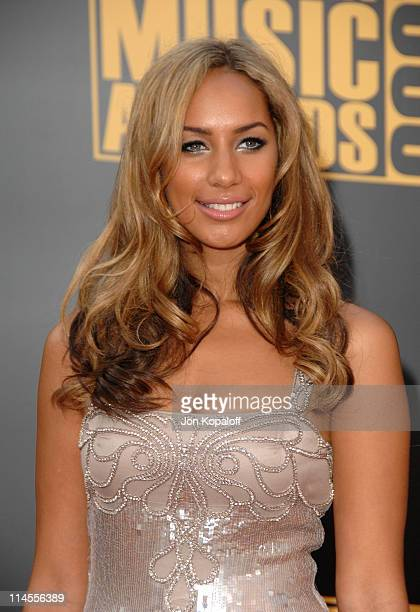 Singer Leona Lewis arrives at the 2008 American Music Awards held at Nokia Theatre LA LIVE on November 23 2008 in Los Angeles California