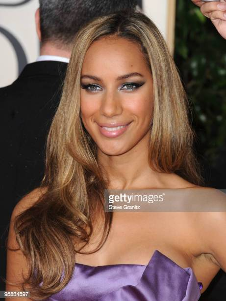 Singer Leona Lewis arrives at the 67th Annual Golden Globe Awards at The Beverly Hilton Hotel on January 17 2010 in Beverly Hills California