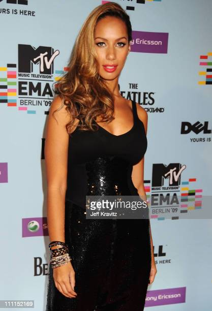 Singer Leona Lewis arrives for the 2009 MTV Europe Music Awards held at the O2 Arena on November 5 2009 in Berlin Germany