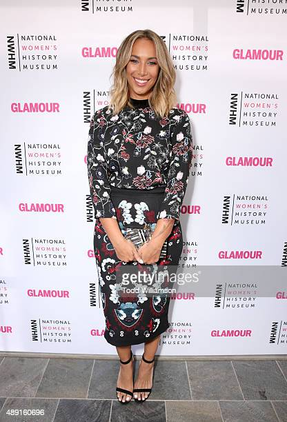 Singer Leona Lewis attends the 4th Annual Women Making History Brunch presented by the National Women's History Museum and Glamour Magazine at...