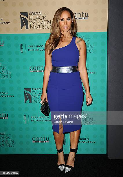 Singer Leona Lewis attends the 5th annual Essence Black Women In Music event at 1 OAK on January 22 2014 in West Hollywood California