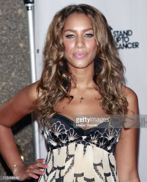 Singer Leona Lewis attends the Conde Nast 'Fashion Rocks' at Radio City Music Hall on September 5 2008 in New York City