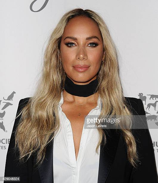 Singer Leona Lewis attends The Humane Society of The United States' To The Rescue gala at Paramount Studios on May 07 2016 in Hollywood California