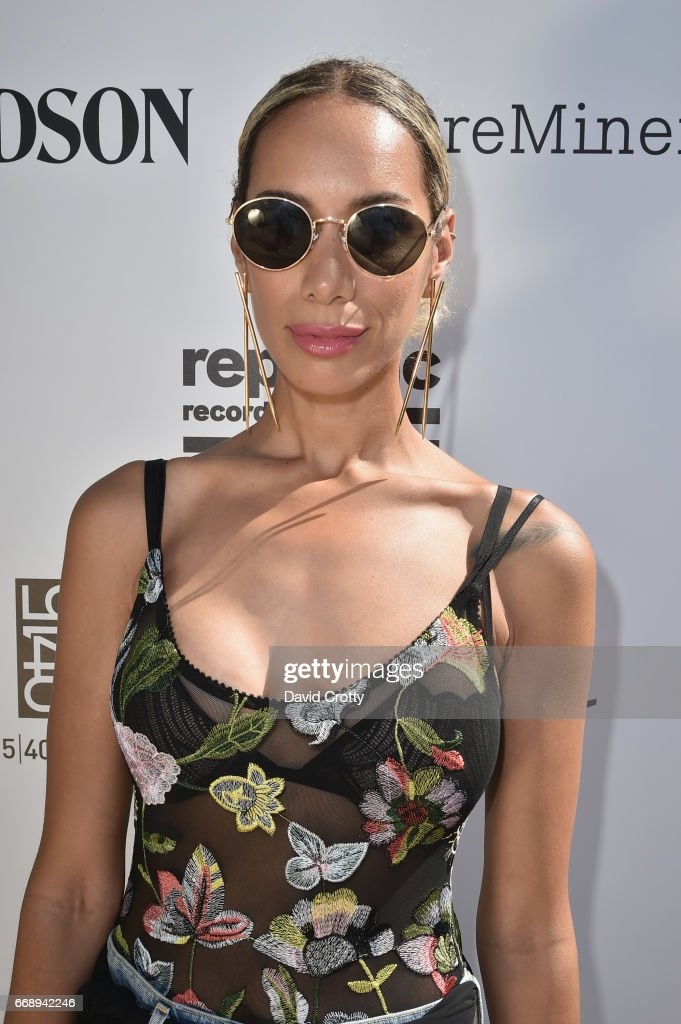 Singer Leona Lewis attends The Hyde Away, hosted by Republic Records & SBE, presented by Hudson and bareMinerals during Coachella on April 15, 2017 in Thermal, California.