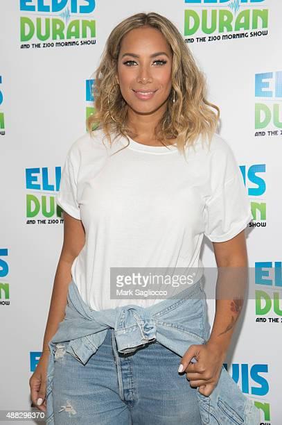 Singer Leona Lewis visits 'The Elvis Duran Z100 Morning Show' at Z100 Studio on September 15 2015 in New York City