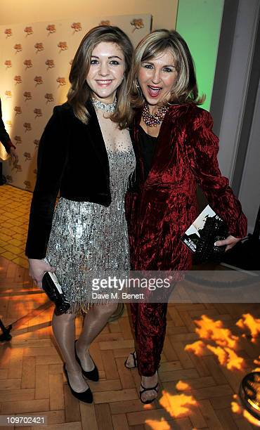 Singer Lesley Garrett and daughter Chloe attend an after party following press night for Andrew Lloyd Webber's new West End production of The Wizard...