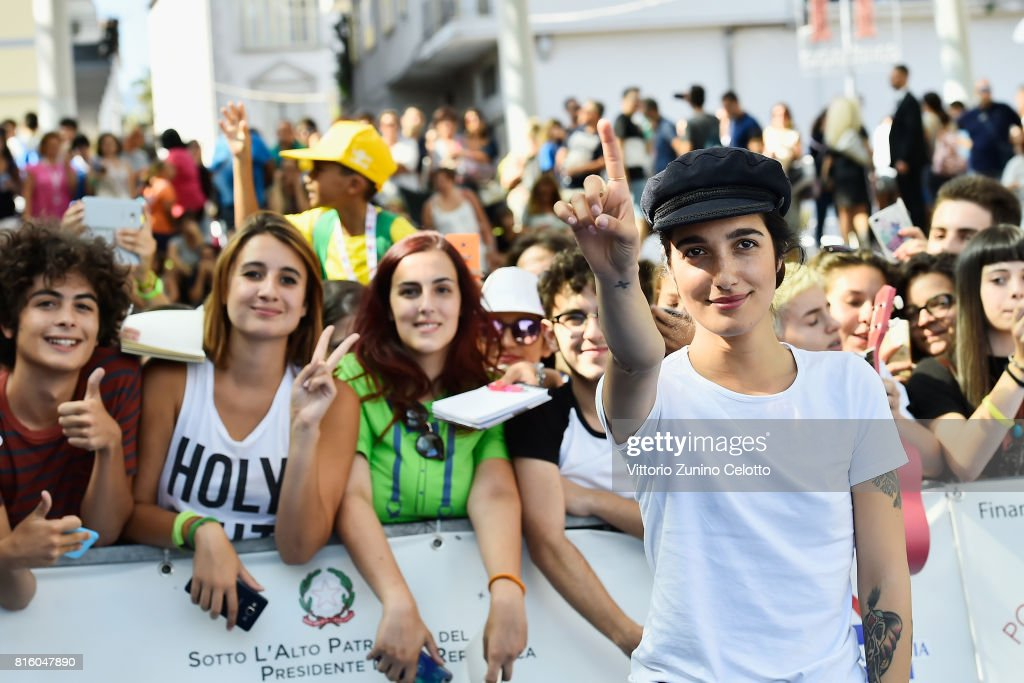 Singer Levante attends Giffoni Film Festival 2017 on July 17, 2017 in Giffoni Valle Piana, Italy.