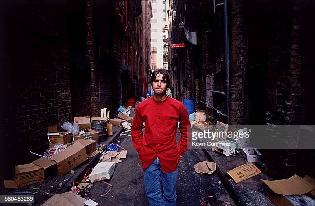 Singer Liam Gallagher of British rock band Oasis 2nd August 1994