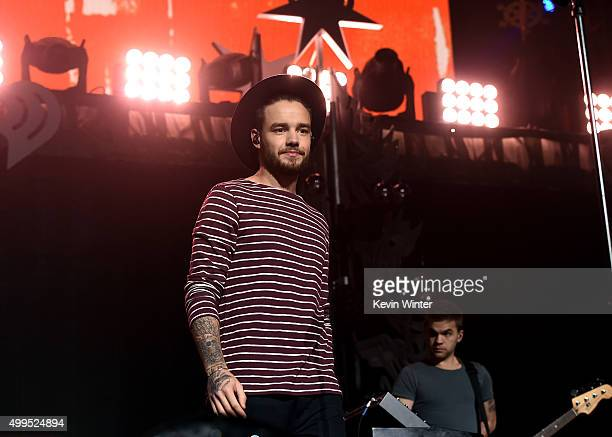 Singer Liam Payne of musical group One Direction performs onstage during 1061 KISS FM's Jingle Ball 2015 presented by Capital One at American...