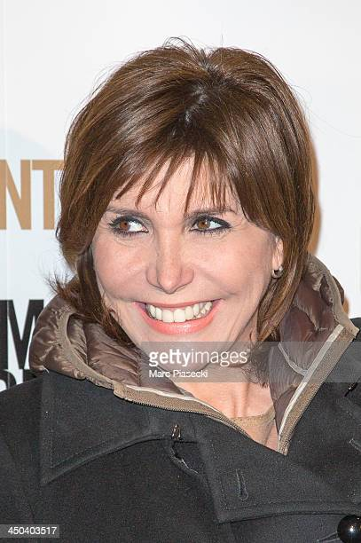 Singer Liane Foly attends the 'Twenty feet from stardom' Paris premiere at Cinema UGC Normandie on November 18 2013 in Paris France