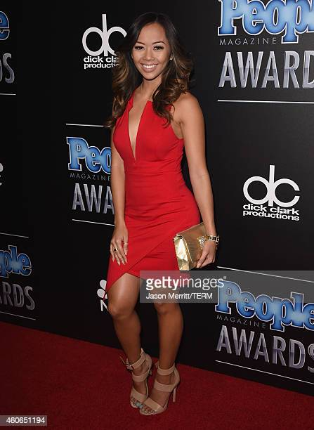 Singer Liane V attends the PEOPLE Magazine Awards at The Beverly Hilton Hotel on December 18 2014 in Beverly Hills California