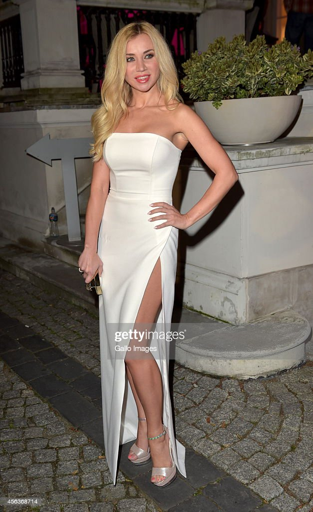 Singer Lidia Kopania attends' Party Zycie Gwiazd' on September 29 2014 at the Amber Room in Warsaw Poland The Magazine hosted a Birthday Gala for 100...