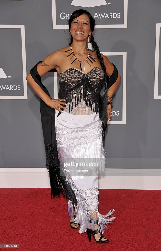 Singer Lila Downs arrives at the 51st Annual Grammy Awards held at the Staples Center on February 8, 2009 in Los Angeles, California.
