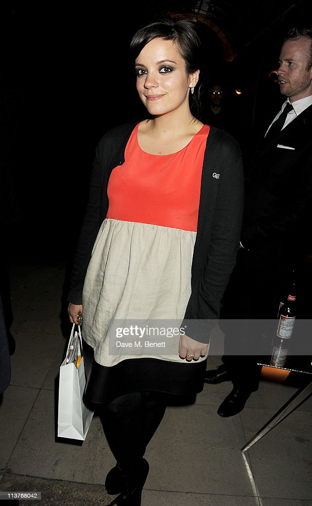 Singer Lily Allen attends the launch of Esquire Magazine's June issue hosted by the magazine's new editor Alex Bilmes and herself on May 5, 2011 in London, England.