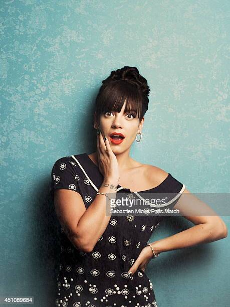 Singer Lily Allen is photographed for Paris Match on May 21 2014 in Cannes France