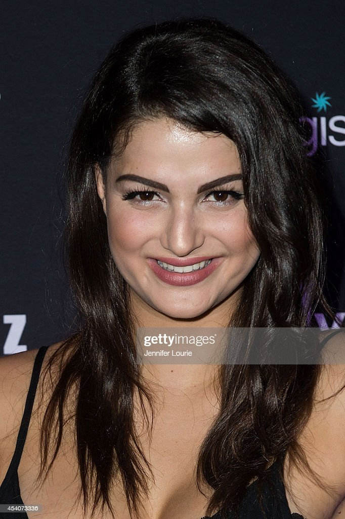 Singer Lily Lane arrives at 'One Night In Los Angeles' presented by Perez Hilton at The Troubadour on August 23, 2014 in Los Angeles, California.