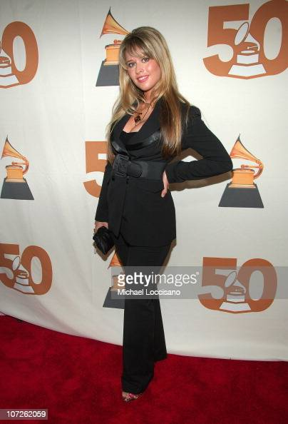 Singer Linda Kiraly attends the Recording Academy New York Chapter's Tribute to Bon Jovi Alicia Keys Donnie McClurkin and the creators of West Side...