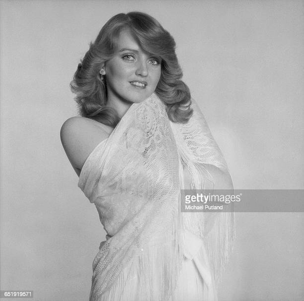 Singer Linda Nolan of AngloIrish vocal group The Nolans London December 1980